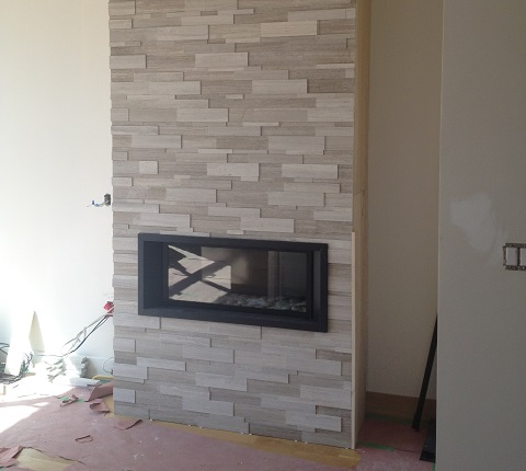 fireplace remodelling stone front