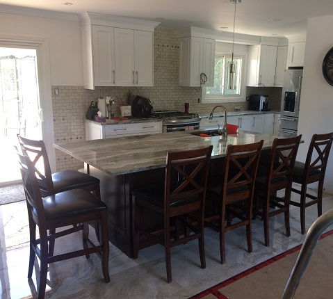 kitchen island bar mississauga installation