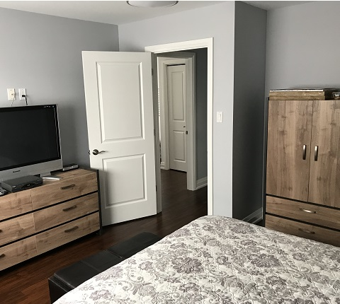 master bedroom reno