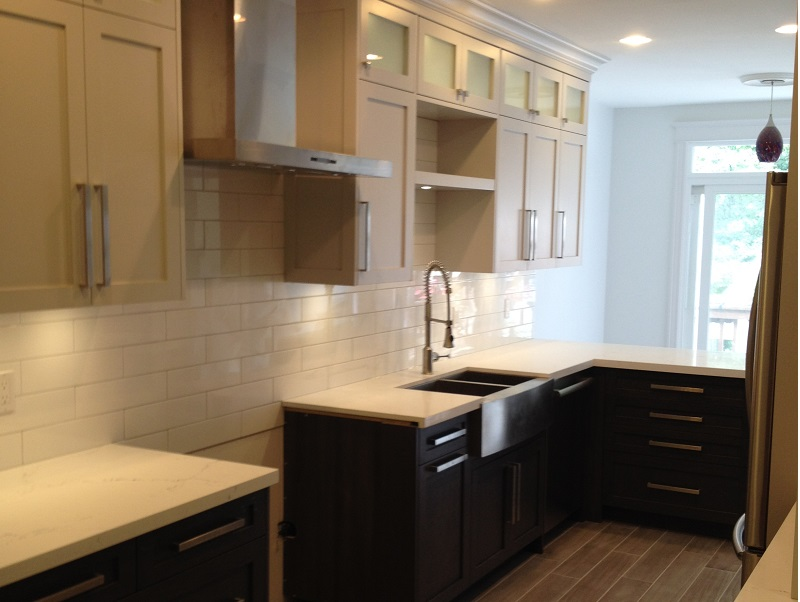 Kitchen Sink Subway Tile Backsplash